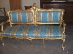 divano luigi xv fine '700