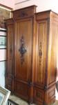 armadio siciliano in pino-pece fine '800